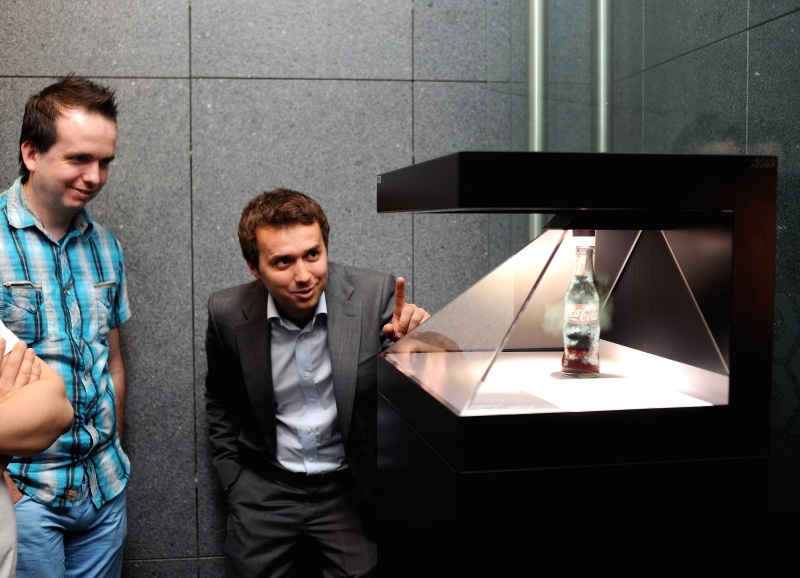 Piramida Holograficzna 3D